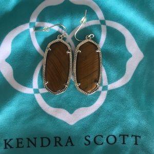 Kendra Scott brown earrings